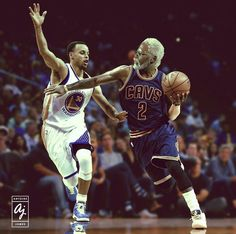 Uncle Drew and Stephen Curry