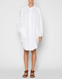 Aiayu, Shirt Dress White via Vår. Click on the image to see more!