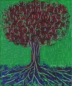 Digital item Three Trees: The Green One after by AtelierHayat