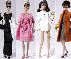 Audry Hepburn, Breakfast at Tiffany's Barbies