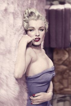 marilyn monroe colorized