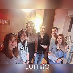 Au studio à #Toulon pour un enregistrement dans la bonne humeur