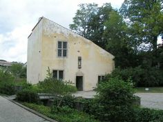 Joan of Arc's house (the same one she lived in) in the village of Domremy, France.