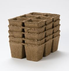 "biodegradable CowPots™ - 3"" Six Cell - 5 Pk... great prices - even better in bulk!"