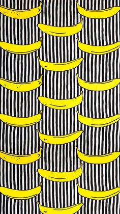 iPhone 5s wallpaper #banana #lines