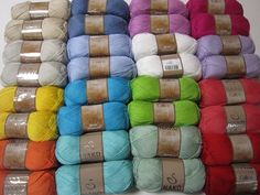 Perfect yarn for spring/summer season very soft. Made from cotton and premium acrylic. 268 yards (245 meters), 100 grams (3.53 ounces),http://yarnstreet.com/yarns/nako/calico