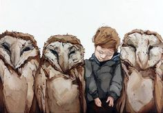 Owl Squish by Amberlee Rosolowich presented by Hespe Gallery Portraits, Artwork Display, Fashion Painting, Pastel Drawing, Owl Art, Animals Beautiful, Graphic Art, Graphic Design, Illustration Art