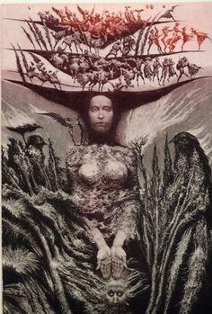 Ex libris by Albin Brunovsky Art And Illustration, Pierre Auguste Renoir, Bratislava, Magritte, Figurative Kunst, Dark Drawings, Etching Prints, Art Festival, Surreal Art