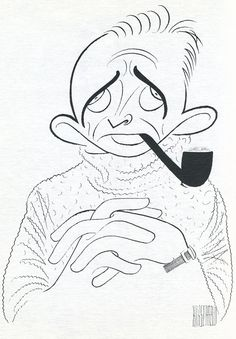 Al Hirschfeld - Bing Crosby