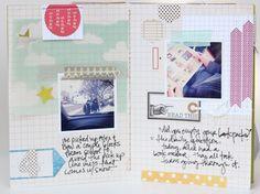 scraps, handwriting & pictures
