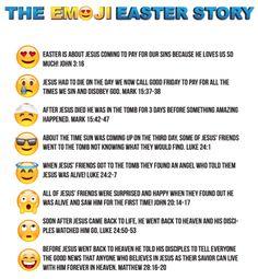Emoji Easter Story