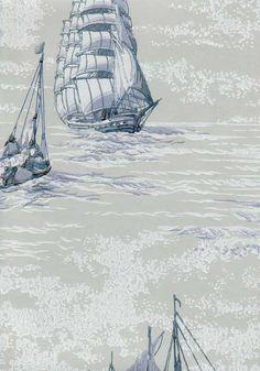 At sea - wallpaper, Pihlgren & Ritola