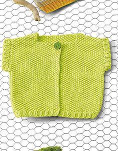 Book Baby 76 Spring / Summer | 32: Baby Jacket | Pistachio