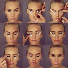 how to do perfect cat eyes