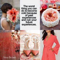 ☆The worst thing you can do is become cold because of past experiences and ruin your future experience. Beautiful Collage, Beautiful Family, Collages, Color Schemes, Color Combinations, Mood Colors, Color Quotes, Birthday Prayer, Sweet Quotes