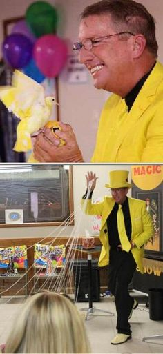 Get fun and interactive birthday party activities with the help of Hugh Knight. He is a skilled magician with over 3 decades of experience to his name. Open pin to read 25 reviews for this kids entertainer.