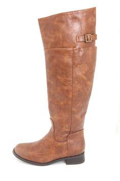 Rider Boots - Tan