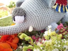 This is an Amigurumi Elephant I made for fun. I was trying to stay away from making animals that I had seen a lot of patterns for but finally decided to make whatever the hell I feel like ^_^ Today…
