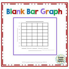 Marvelous Blank Bar Graph  This Is My Main Free Item!