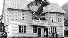 Sogn og Fjordane fylke Askvoll kommune i Sunnfjord Holmedal Dampbakeri 1910