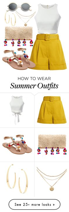 """Untitled #737"" by victoriaam99 on Polyvore featuring Nannacay, Isa Arfen and Lana"