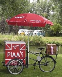 Cafe Bon Bon Ice Cream & Pimm's Tricycles - Perfect for a Summer Wedding with outside space