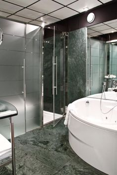 Hotel Architecture, Bathtub, Bathroom, Products, Standing Bath, Washroom, Bath Tub, Bathrooms, Bathtubs