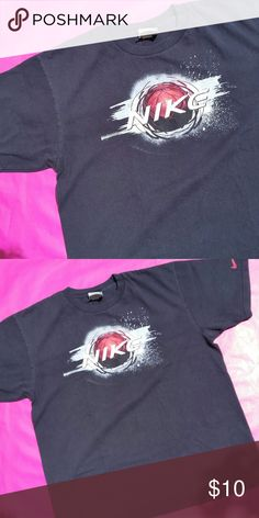 NIKE BLACK T SHIRT TEE | Size M or Medium | NIKE BLACK T SHIRT TEE | Size M or Medium | 100% Cotton | Made in Honduras | Nike Shirts Tees - Short Sleeve