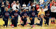 Entire Indiana Fever Team Kneels During Anthem Before Playoff Game