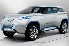 Nissan TeRRA SUV concept. Prototipo 2012.