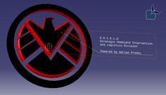 Agents of S.H.I.E.L.D logo #marvel #agentsofshield #dccomics #engineering