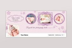 New baby facebook timeline cover. Wedding Fonts. $3.00