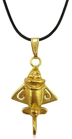 Pre-Columbian Golden Jet-3 Pendant.More info for fashion necklaces;glass bead necklaces;costume jewelry necklaces;chains necklaces jewelry;nice necklaces could be found at the image url.(This is an Amazon affiliate link and I receive a commission for the sales)