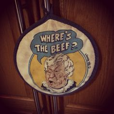 Where's the Beef? #80s #nostalgia