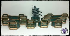 Aegis Defense Lines #ChaoticColors #commissionpainting #paintingcommission #painting #miniatures #paintingminiatures #wargaming #Miniaturepainting #Tabletopgames #Wargaming #Scalemodel #Miniatures #art #creative #photooftheday #hobby #paintingwarhammer #Warhammerpainting #warhammer #wh #gamesworkshop #gw #Warhammer40k #Warhammer40000 #Wh40k #40K #terrain #scenery #Scifi #AegisDefenseLines #Quadgun #wall #barrier 40k Terrain, Warhammer 40000, Tabletop Games, Gw, Quad, Scenery, Sci Fi, Miniatures, Creative