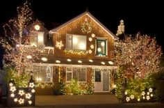 LED Christmas Lights: Eaves or Yard Decorations?