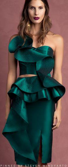 Johanna Ortiz Fall 2016 Fashion Show #johannaortiz #fall2016 #fw16