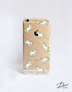 Unicorn phone case design for iPhone Cases, HTC Cases, Samsung Cases, Blackberry Cases, Sony Cases and Nokia Cases by DessiDesigns on Etsy