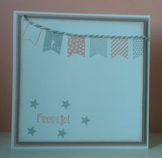 Sale a bration stampin up card