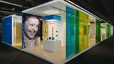 Kludi | ISH|L|messedesign|projekte|Kohlhaas Messebau  [love the translucent colors -area]
