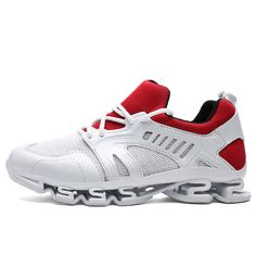 0e085eeb5d24d4 Men s sneaker blade design sole running shoes lace-up breathable sports shoe  for female size Price history.