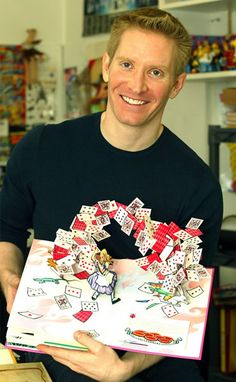 Robert Sabuda, illustrator/paper engineer of the 2012 STBA winner, Chanukah Lights.