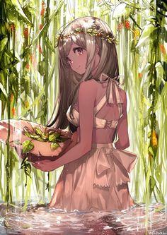 Beautiful-Rare Anime Photo Album - Part Cute girl - Anime-Manga is my life . Extremely Amazing Collection of Anime-Manga - Kawaii Anime Girl, Manga Kawaii, Chica Anime Manga, Fan Art Anime, Anime Artwork, Anime Art Girl, Anime Girls, Anime Fantasy, Manga Girl