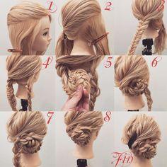 Bridal Hairstyles Inspiration : Bekijk deze Instagram-foto van hiroki.hair  446 vind-ik-leuks
