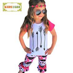 $8.31 (Buy here: https://alitems.com/g/1e8d114494ebda23ff8b16525dc3e8/?i=5&ulp=https%3A%2F%2Fwww.aliexpress.com%2Fitem%2FGirls-Clothes-Outfits-2017-Summer-Boutique-Kids-Clothing-Set-Arrow-T-Shirt-Tops-Geometry-Pants-2pcs%2F32798608446.html ) Girls Clothes Outfits 2017 Summer Boutique Kids Clothing Set Arrow T Shirt Tops+Geometry Pants 2pcs Toddler Girl Clothing Sets for just $8.31