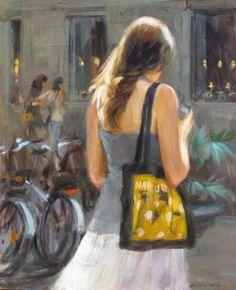 Mònica Castanys 1973 | Spanish Impressionist Figurative painter | Tutt'Art@ | Pittura * Scultura * Poesia * Musica |