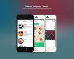 This mobile UI kit is a magnificent iOS UI kit crafted to inspire your next app design. Its transparent elements and smooth edges offer a fresh and slick appeal. Mobile App Design, App Ui Design, Web Design, Pixel Design, Visual Merchandising, Mobiles, Iphone Ui, Iphone Mobile, Games For Boys