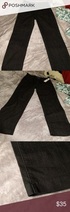 NYDJ Ankle Jeans *Black *Medium-rise *Flexible/stretchy *Not Your Daughter's Jeans sold at Nordstrom's *NEW WITH TAGS, NEVER WORN Jeans Ankle & Cropped