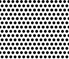 Chirp White Dots fabric by natitys on Spoonflower - custom fabric
