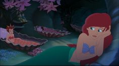Ariel's Beginning- her sisters were so mean in this movie